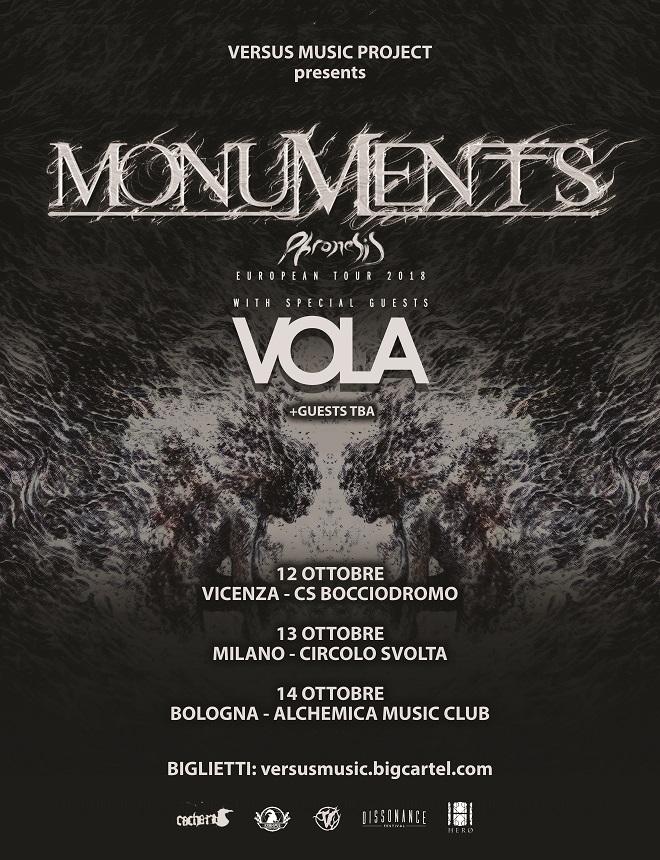 MONUMENTS TOUR