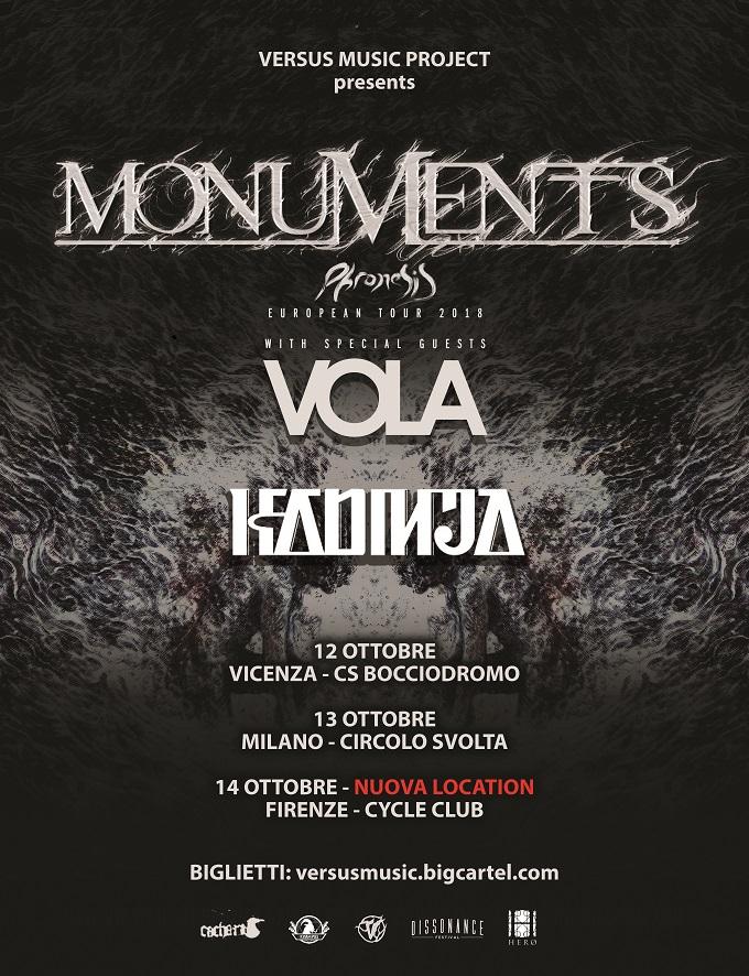 MONUMENTS TOUR ridtto