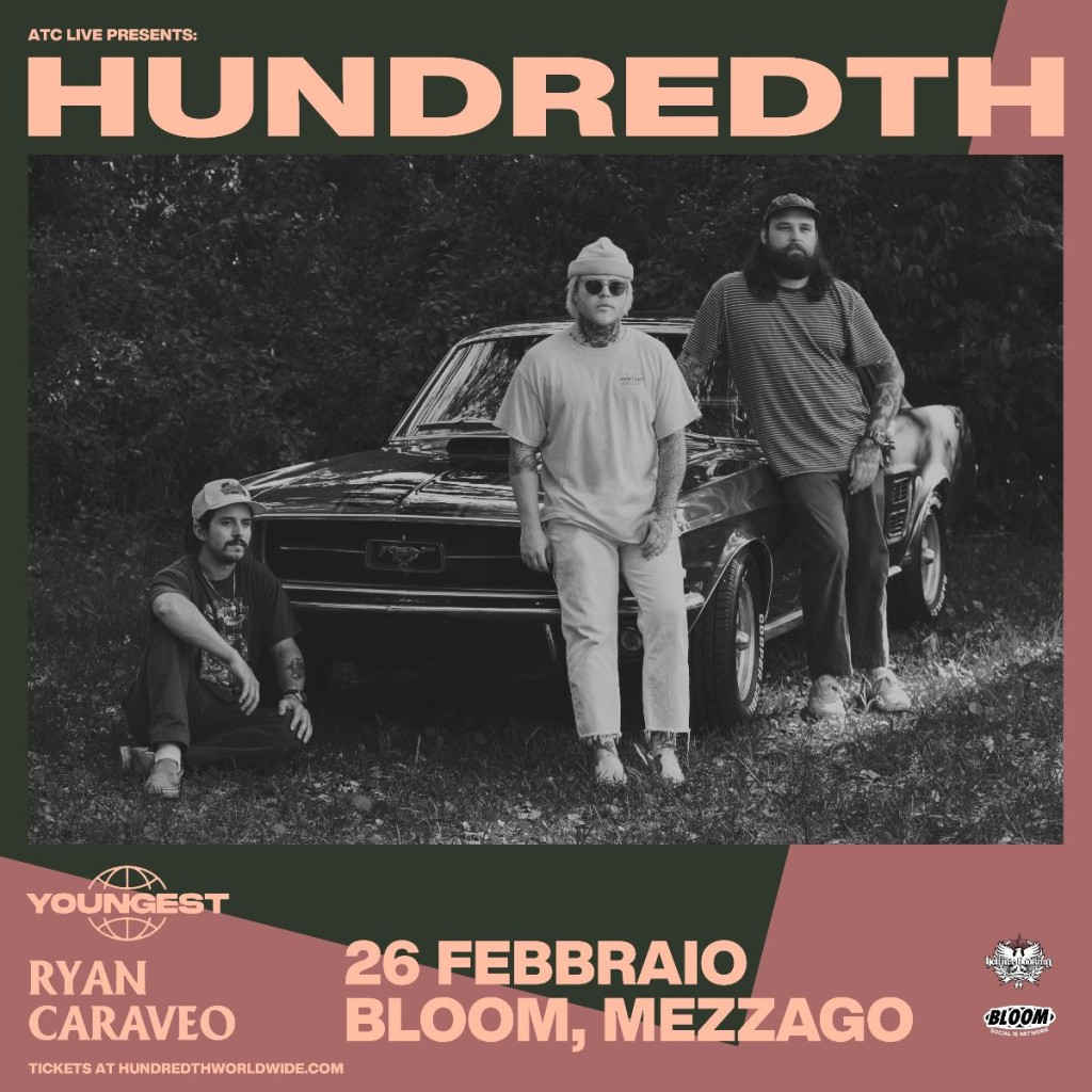 HUNDREDTH - Youngest in supporto