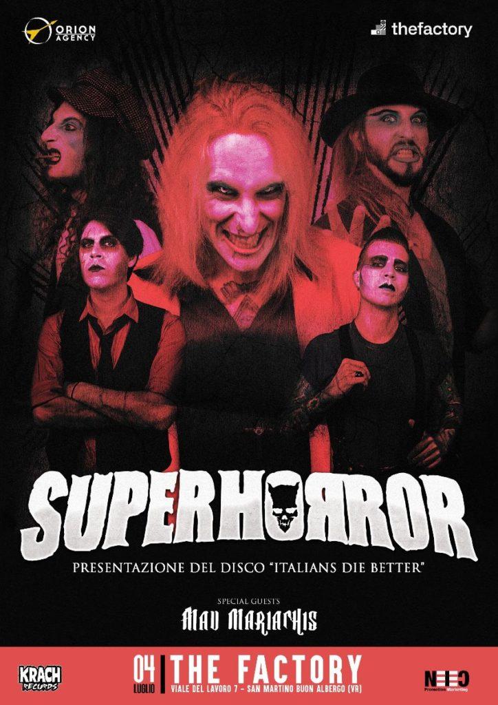 """SUPERHORROR - Esce la versione in vinile di """"Italians Die Better""""; release party il 4 Luglio"""