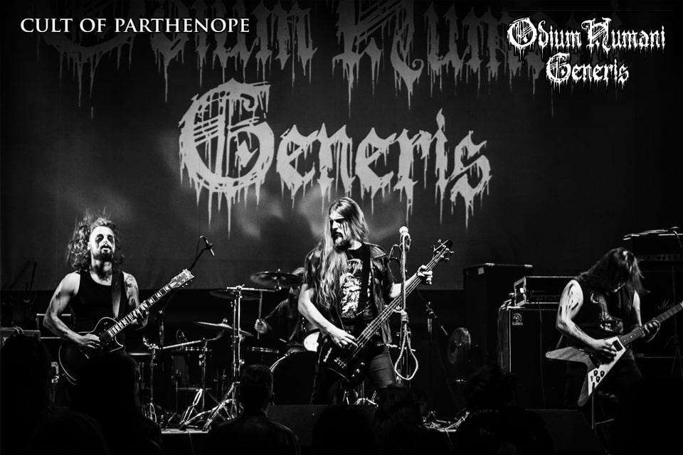 ODIUM HUMANI GENERIS - Firmano con Cult Of Parthenope, nuovo album in uscita ad Ottobre 2020