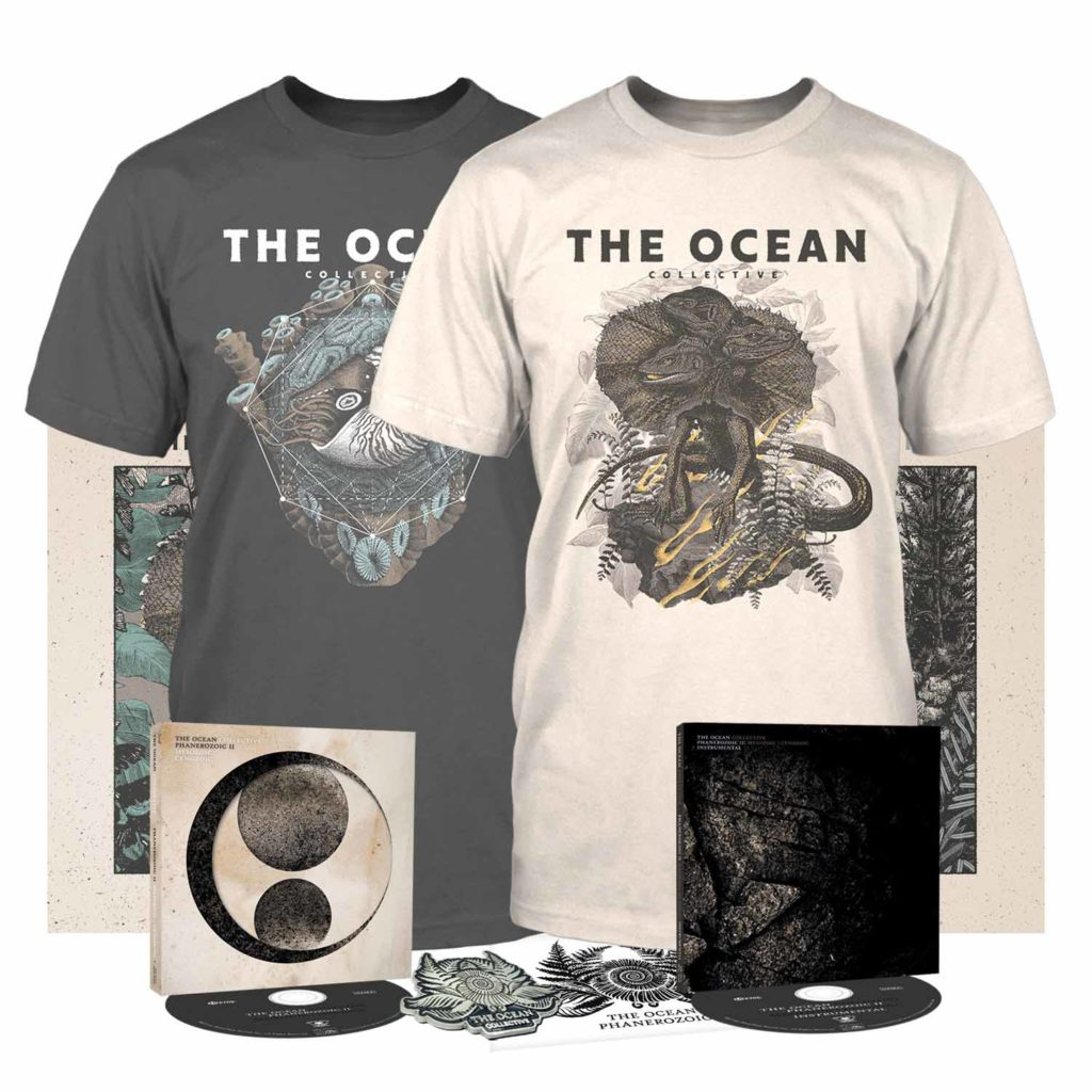 "THE OCEAN - I dettagli del nuovo album, 'Phanerozoic II: Mesozoic | Cenozoico '; disponibile il primo singolo, ""Jurassic | Cretaceous"" (feat. Katasonia's Jonas Renkse)"