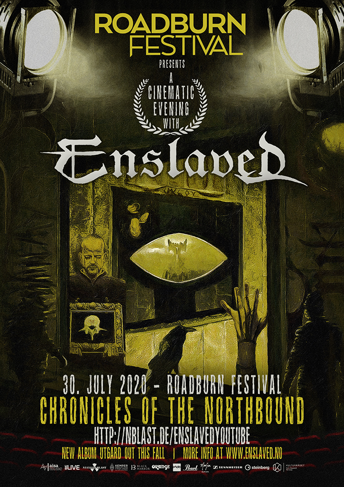 "ENSLAVED – Stasera il concerto in streaming Roadburn ""Chronicles Of The Northbound"""