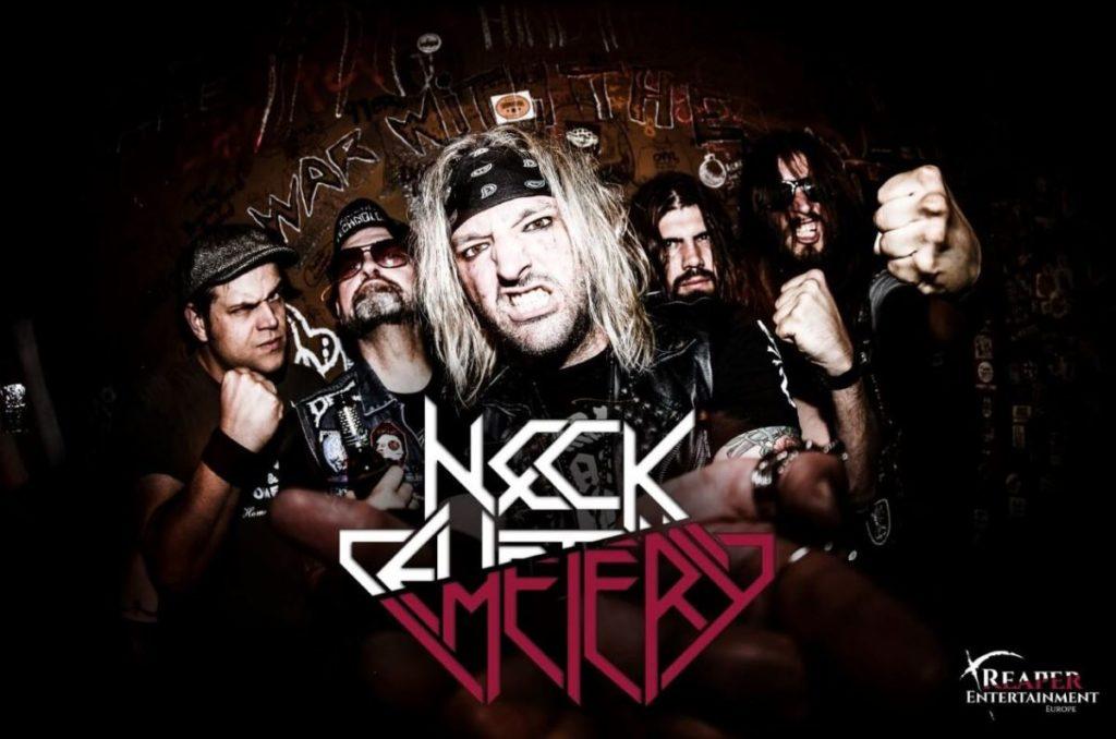 NECK CEMETERY - Firmano per Reaper Entertainment