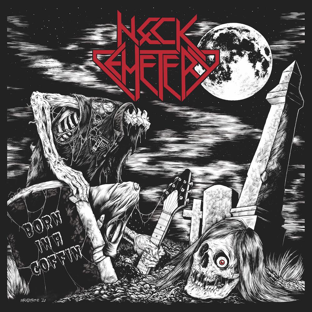 """NECK CEMETERY - Pubblicheranno """"Born in a Coffin"""" il 9 ottobre; svelano la copertina"""