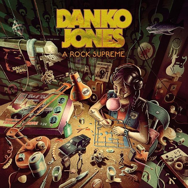 Danko Jones - A Rock Supreme - Album Cover - 3000px