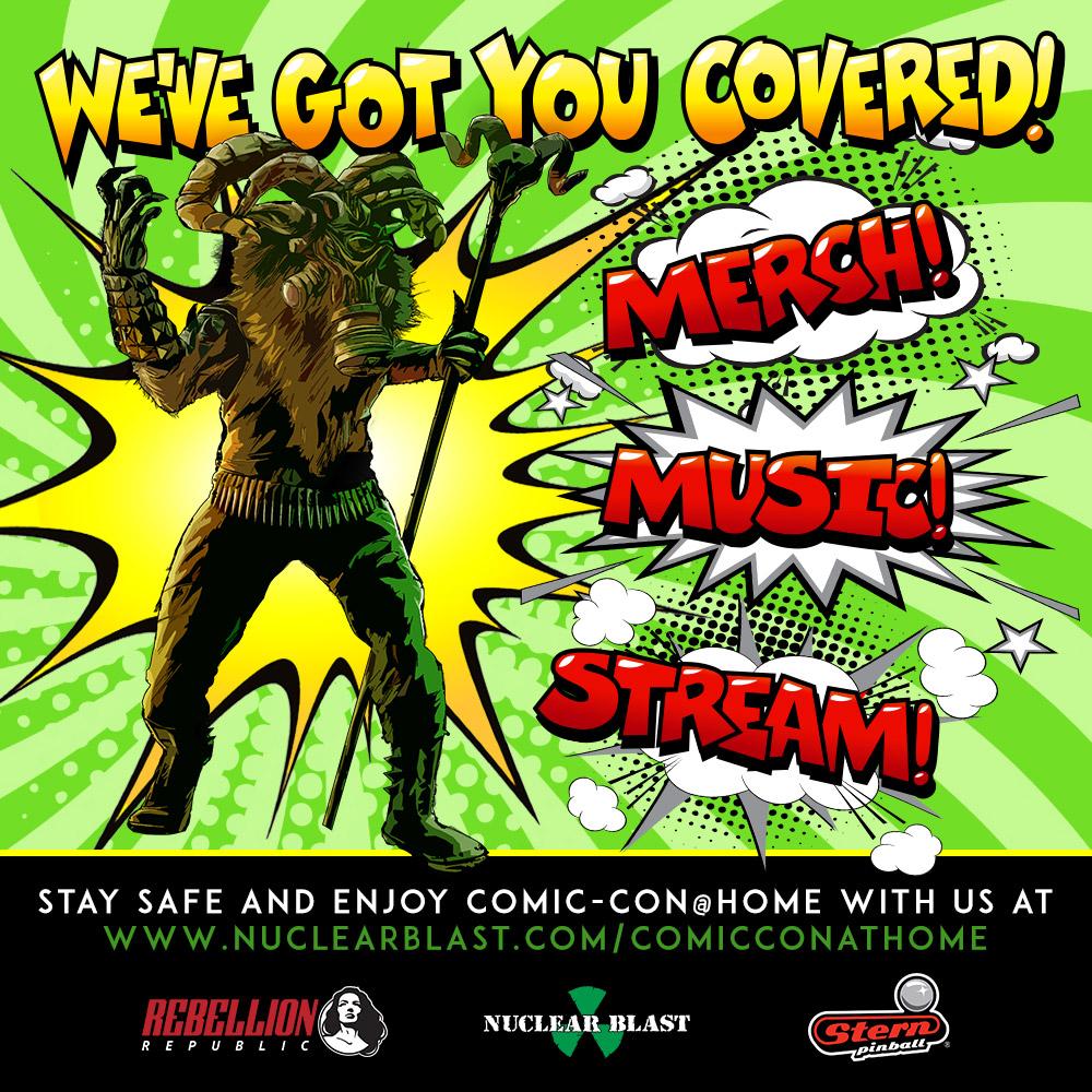 NUCLEAR BLAST - Annuncia gli speciali Comic Con @Home!