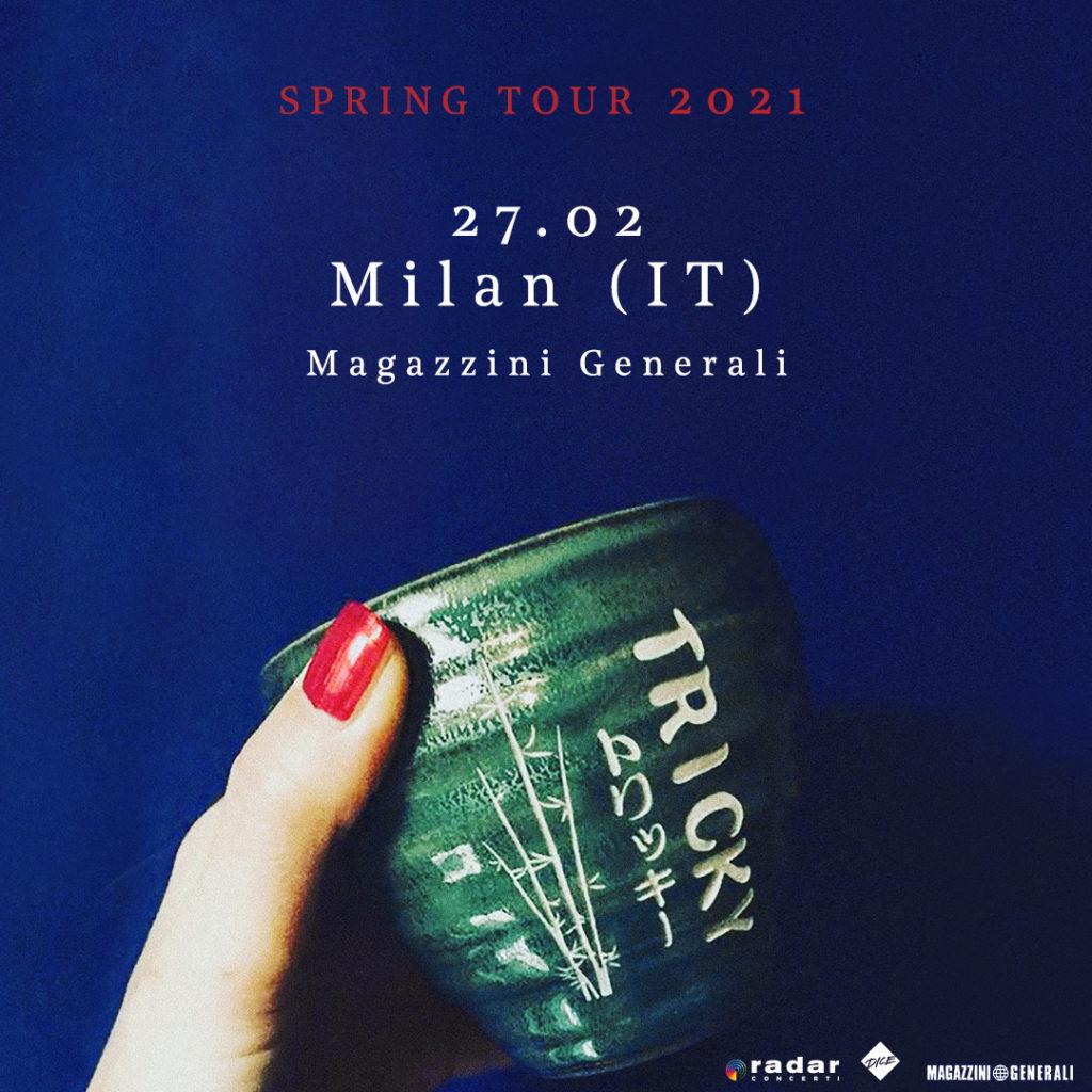 TRICKY - Un'unica data italiana per presentare il nuovo disco FALL TO PIECES in uscita il 4 settembre per False Idols