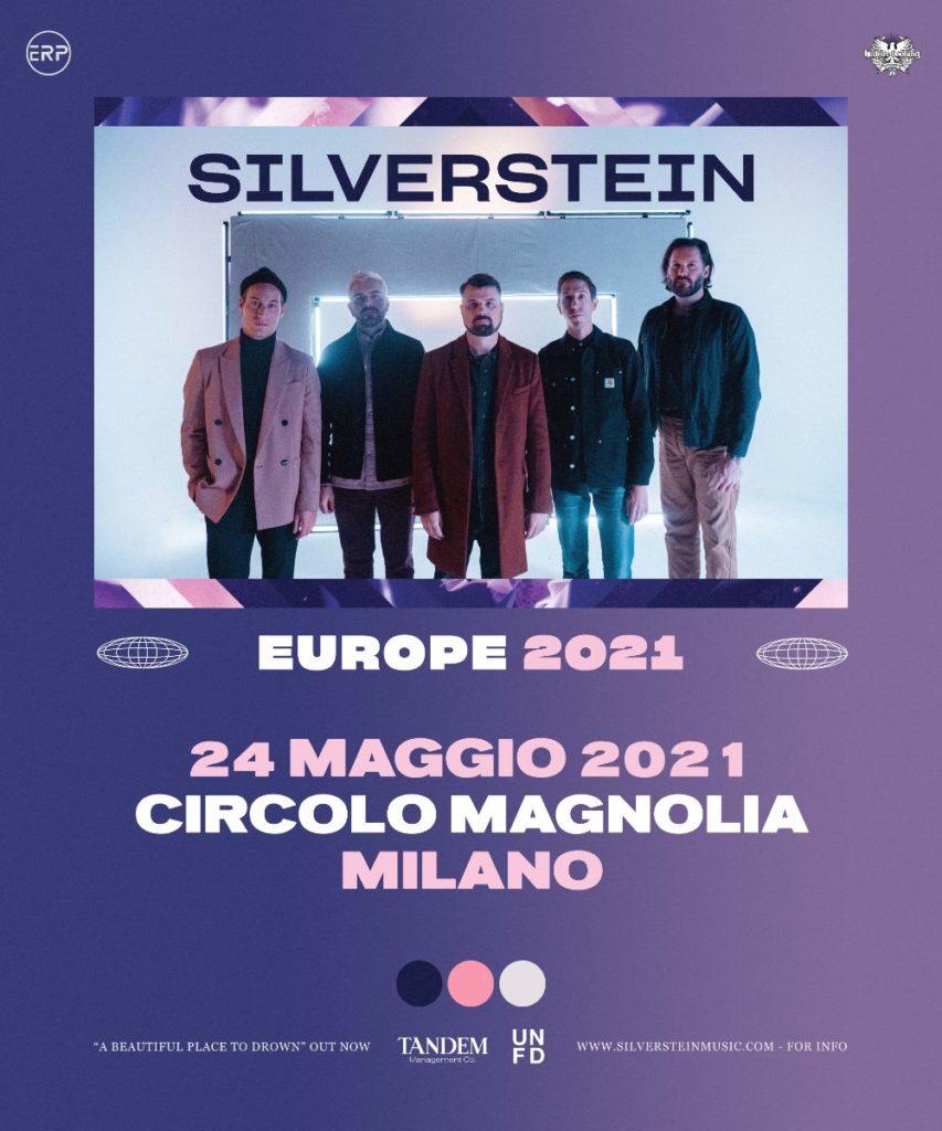 SILVERSTEIN - Gran ritorno a Milano!