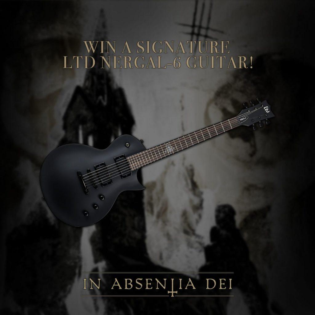 """BEHEMOTH - """"In Absentia Dei"""": in palio una chitarra Nergal-6!"""