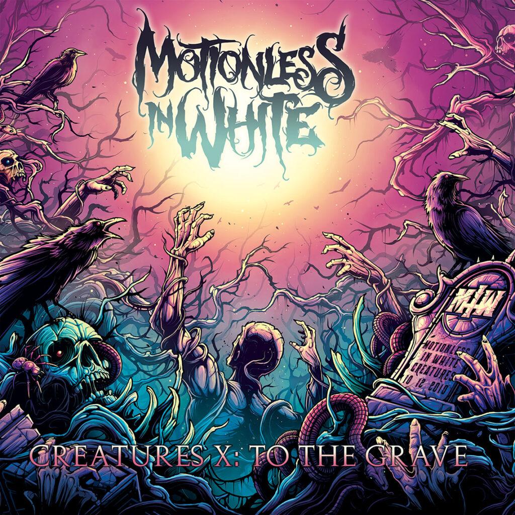 "MOTIONLESS IN WHITE - Fuori il nuovo singolo ""Creatures X: To The Grave"""