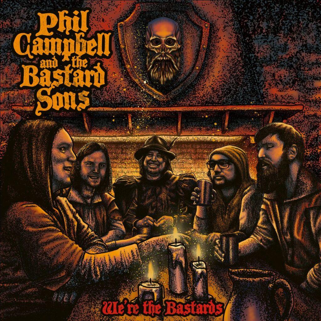 """PHIL CAMPBELL - Pubblicano il nuovo singolo """"We're The Bastards"""" e nuovo video"""