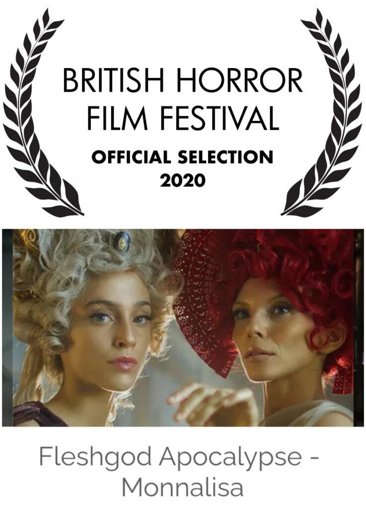 "FLESHGOD APOCALYPSE - ""Monnalisa"" selezionato per il British Horror Film Festival"