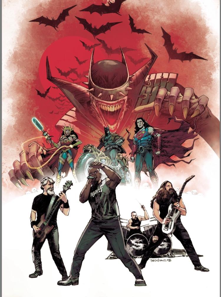 SEPULTURA - Diventano degli eroi dei fumetti nella serie della DC Dark Nights: Death Metal!