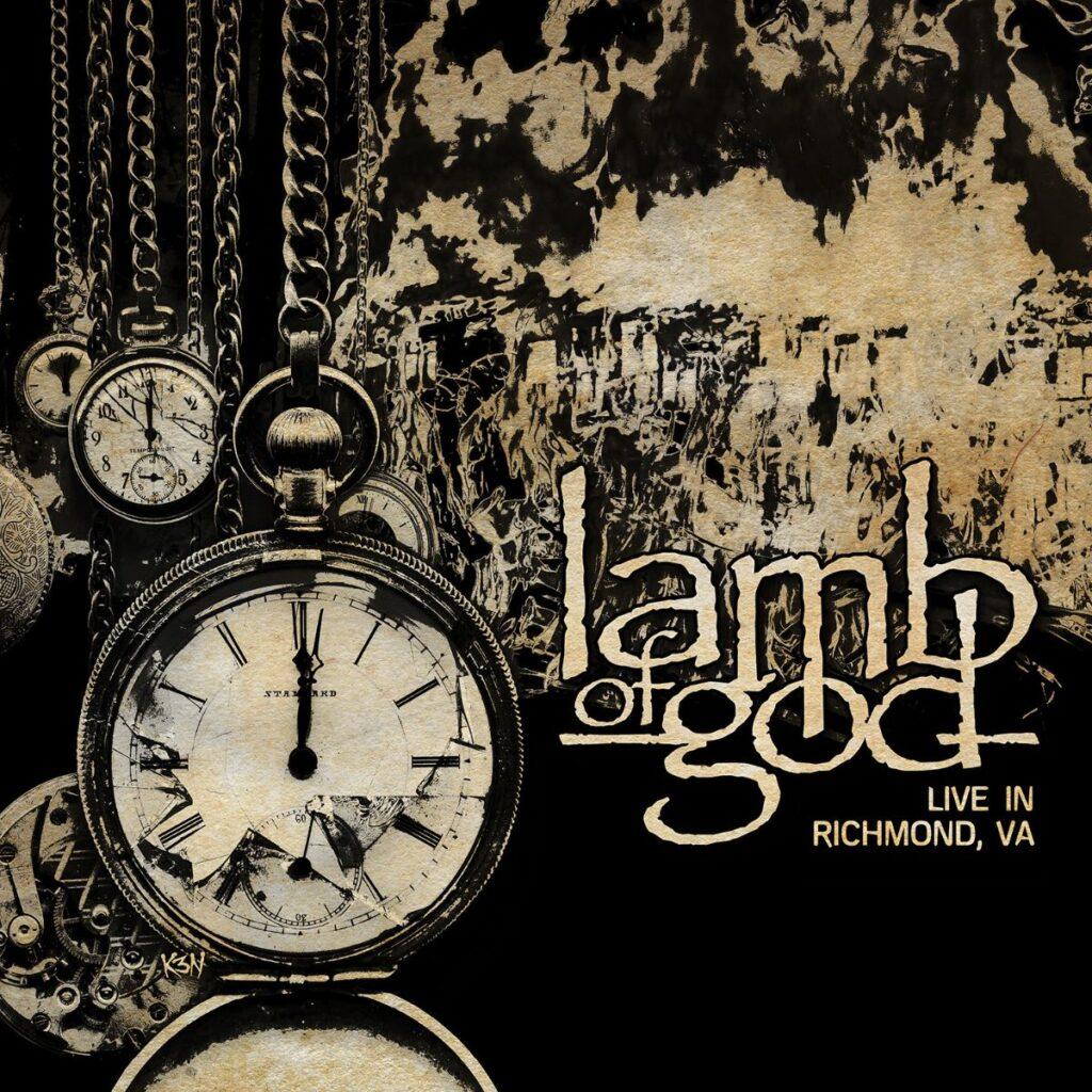 """LAMB OF GOD - Pubblicheranno """"Lamb Of God - Live In Richmond, VA"""" il 26 marzo"""
