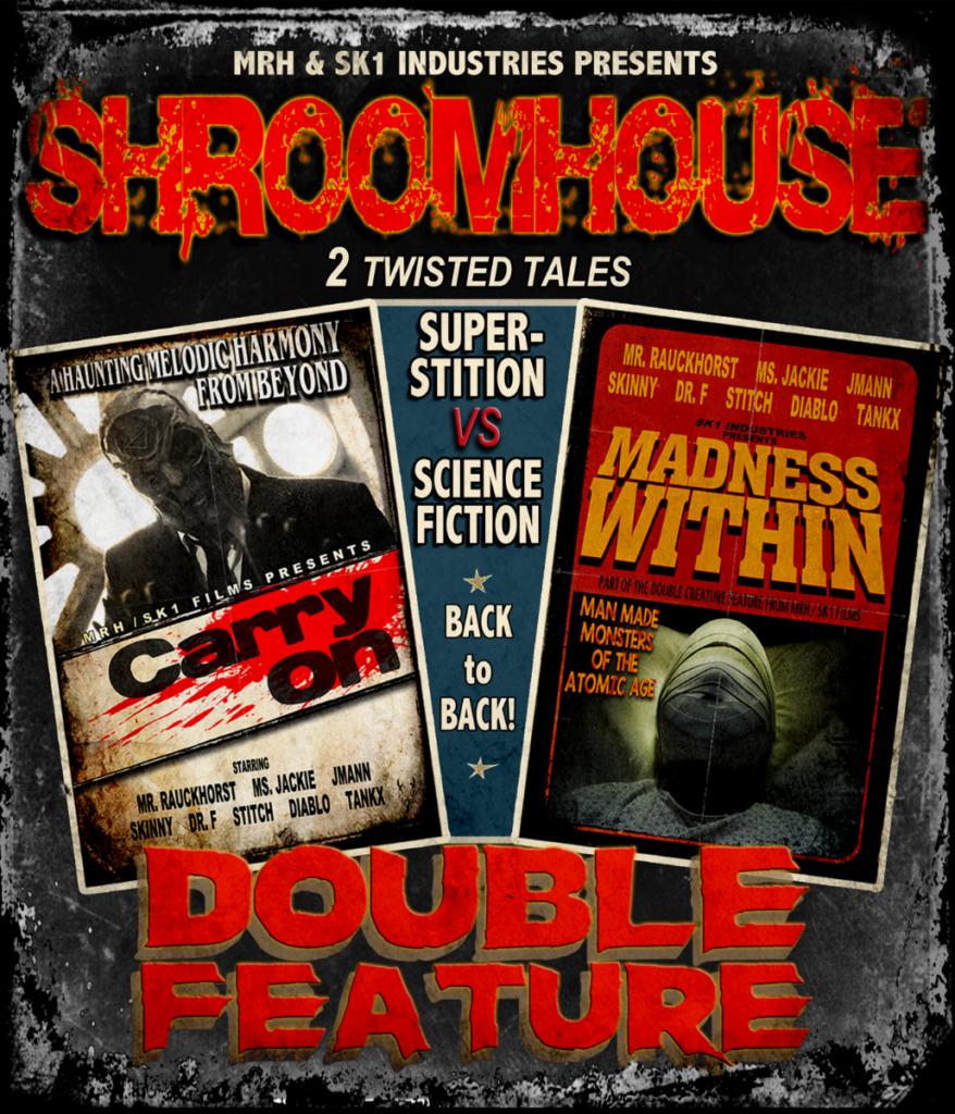 """MUSHROOMHEAD - Annunciano l'evento in anteprima per il doppio film in stile grindhouse """"Shroomhouse"""""""