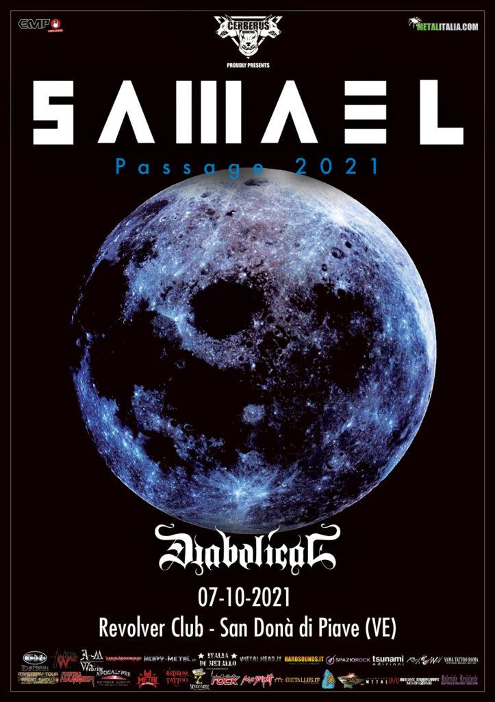 "SAMAEL - Show speciale per i 25 anni di ""Passage"" a ottobre"