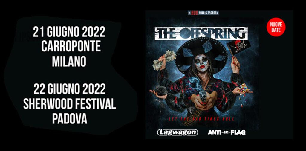 ANTI FLAG - Saranno loro gli special guest delle date italiane 2022 di Offspring e Lagwagon