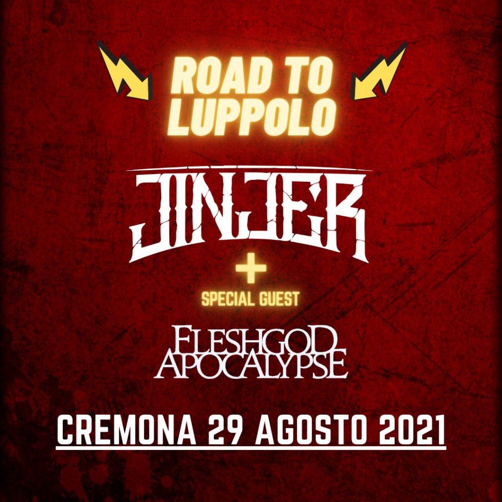 JINJER - Unica data italiana per il 2021: 29 agosto, Cremona, Road To Luppolo - Special Guest FLESHGOD APOCALYPSE