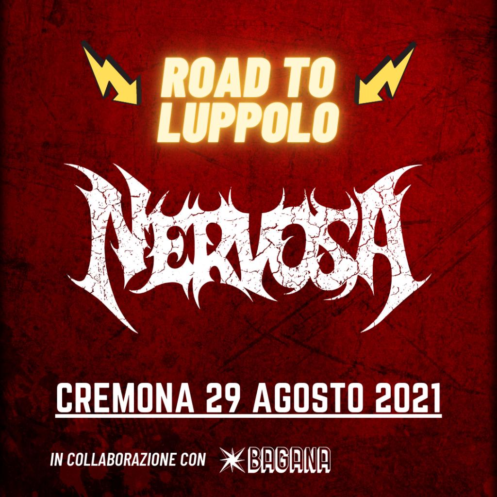 NERVOSA - Unica data estiva con il nuovo album: 29 AGOSTO 2021, Road To Luppolo, CREMONA