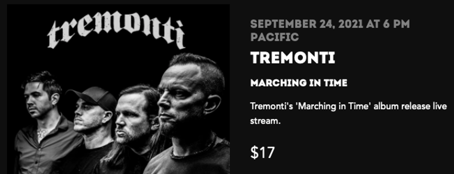 """TREMONTI – Svela il lyric video di """"Now And Forever"""""""